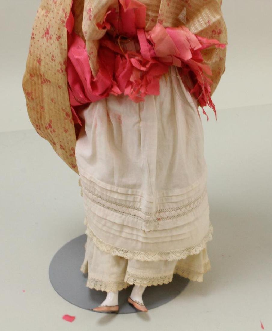 "17"" ANTIQUE CHINA HEAD DOLL. - 3"
