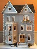CONTEMPORARY DOLL HOUSE FULLY FURNISHED AND