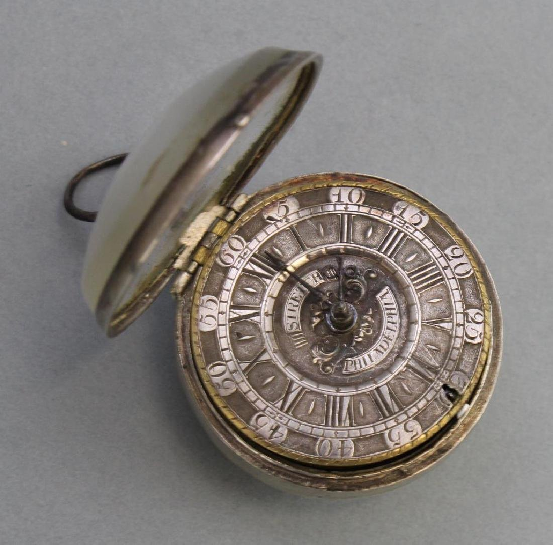 Peter Stretch, Philadelphia, Pa. Pocket Watch - 3