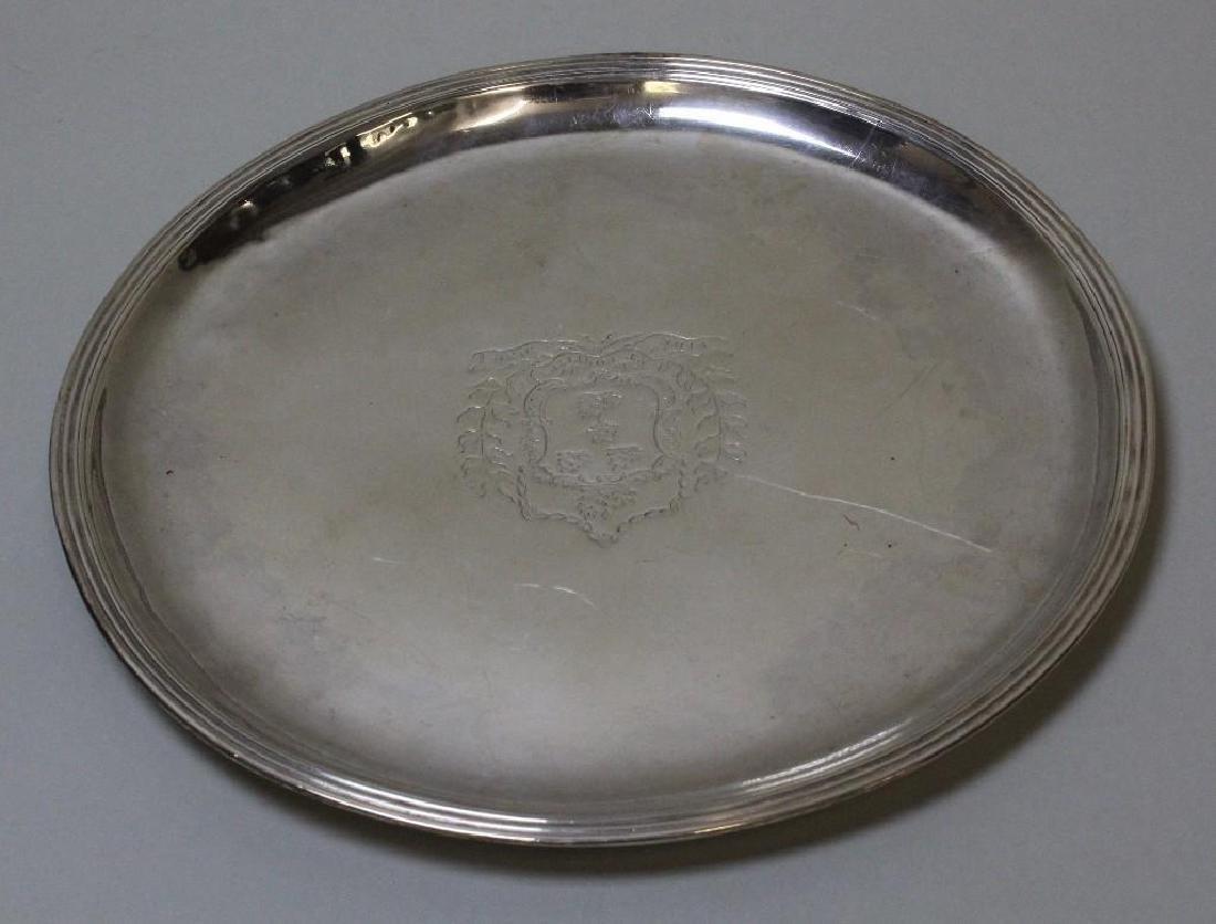 Louis XV Sterling Plates, Gabriel Tillet (Master 1703) - 2