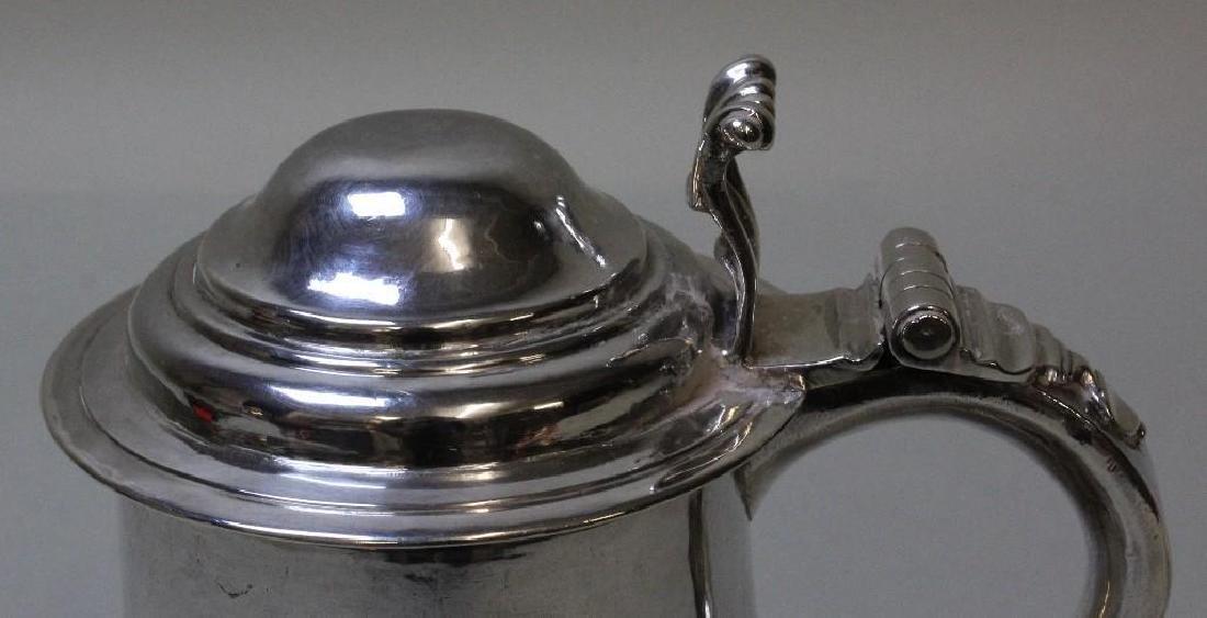 Georgian Sterling Silver Tankard - 10