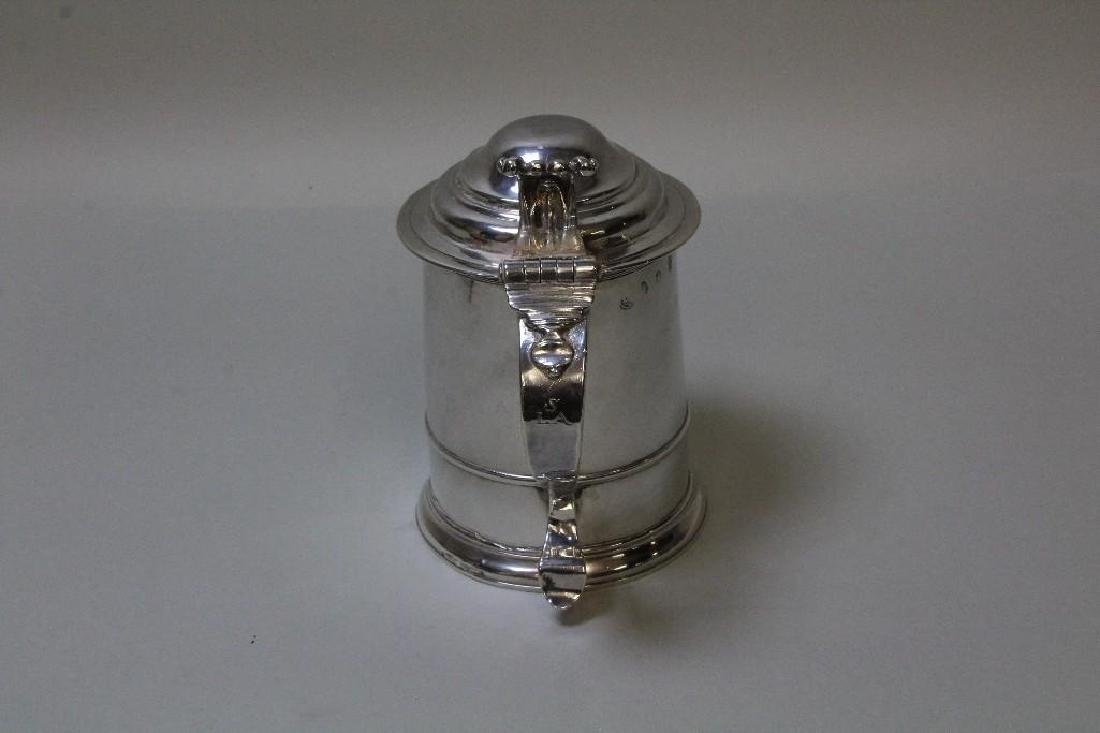 Georgian Sterling Silver Tankard - 5