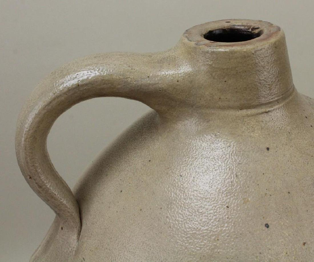 Blue Decorated Stoneware Jug - 7
