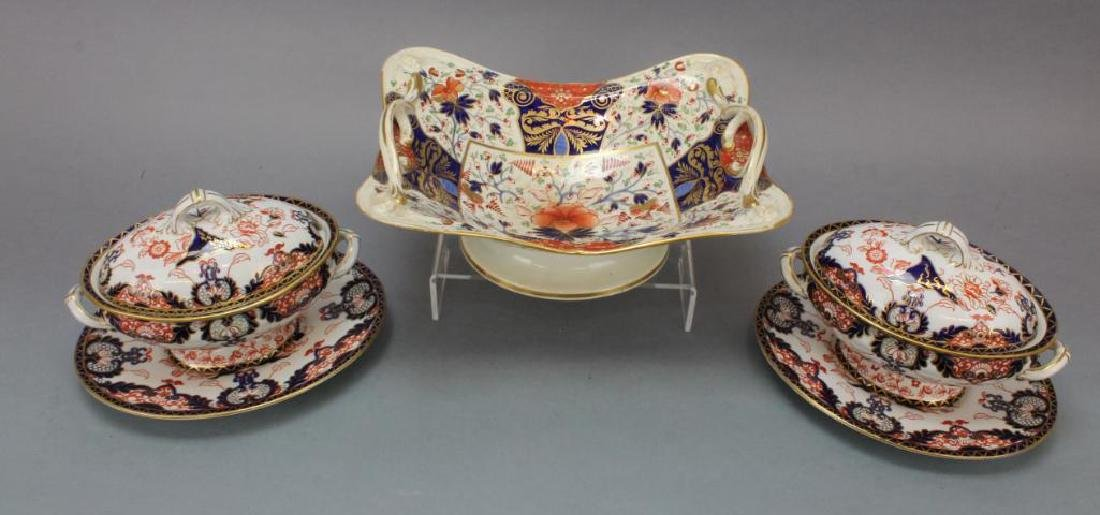 Royal Crown Derby Porcelain Grouping