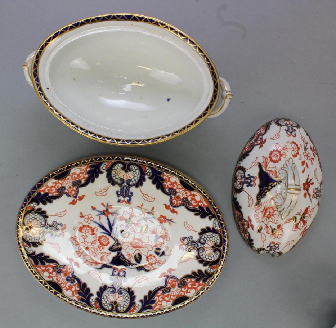 Royal Crown Derby Porcelain Grouping - 3