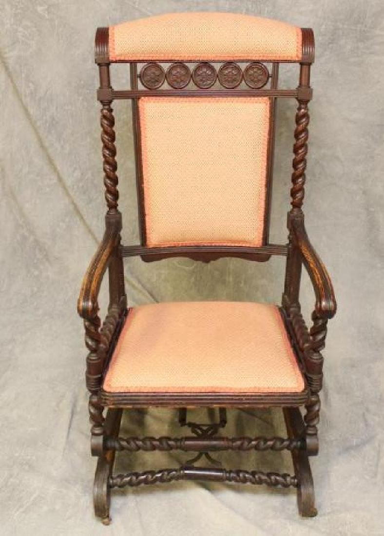 Platform Rocker & Arm Chair - 2