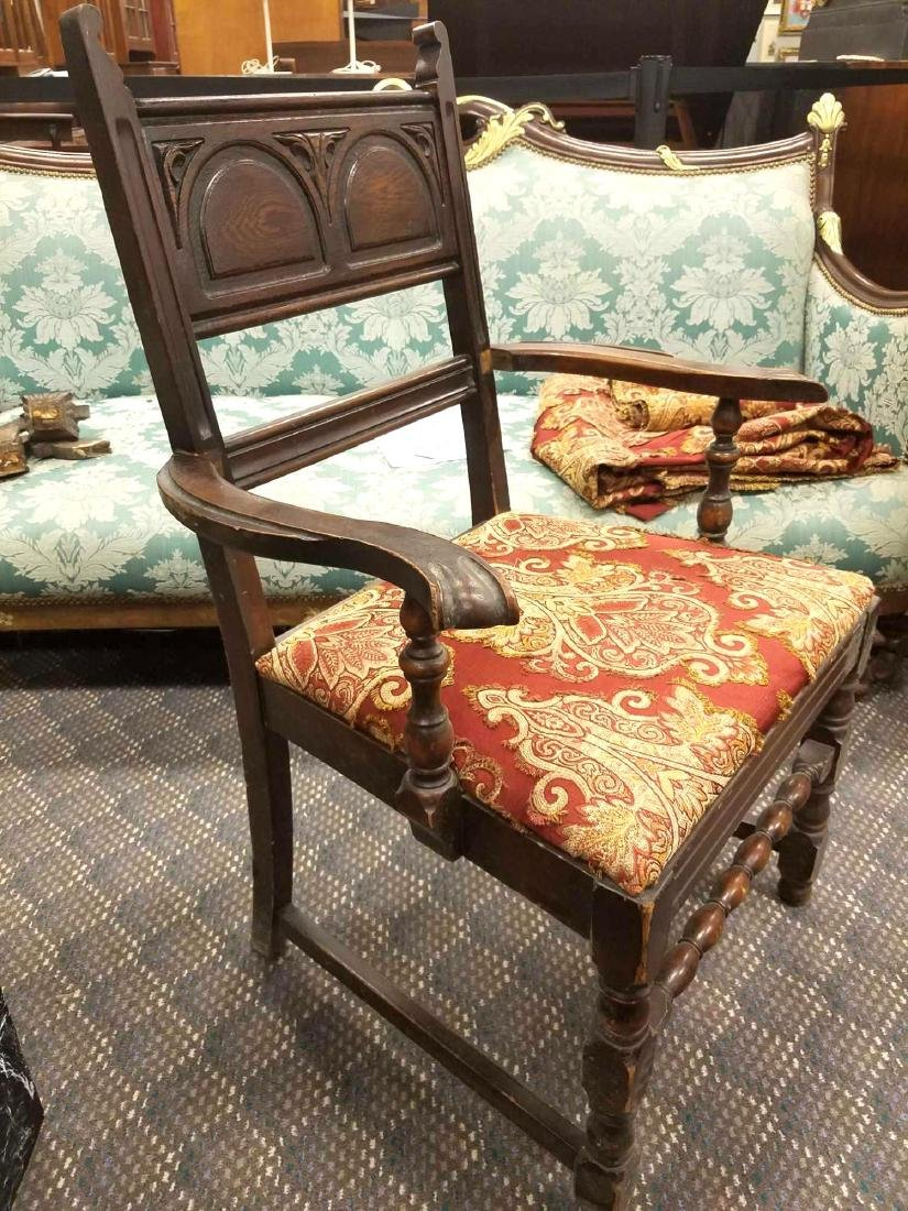 Carved Armchair