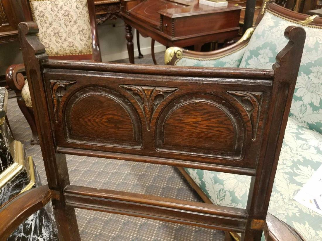 Carved Armchair - 4