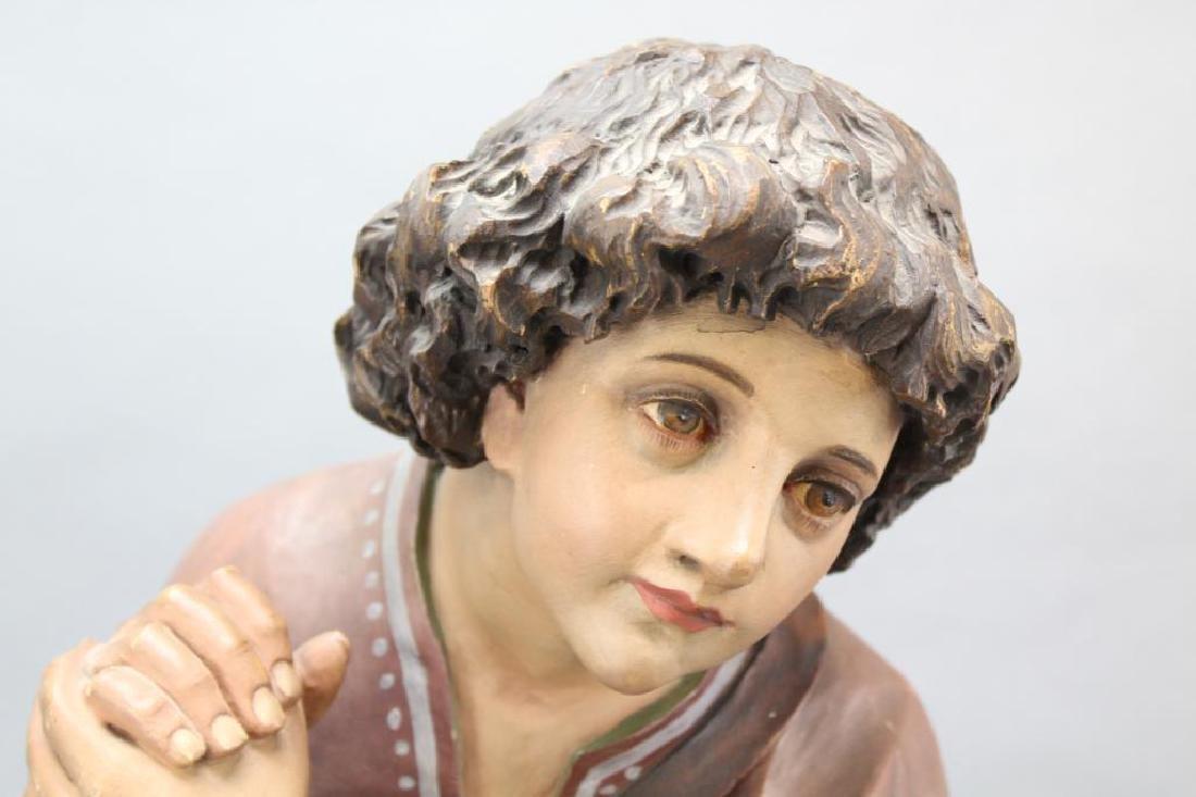 Kneeling Statue - 3