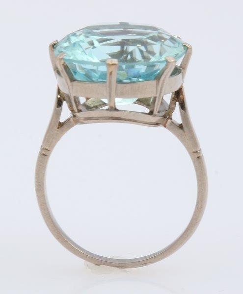 3251: Aquamarine Ring