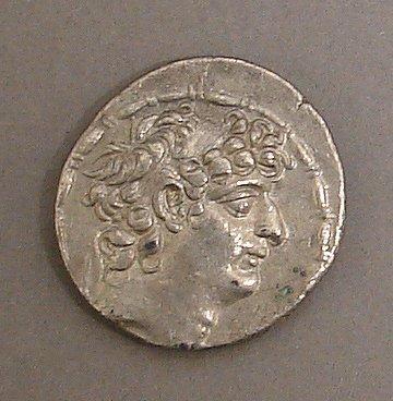 7007: Syrian Tetradrachm Ancient Coin