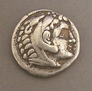 7009: Tetradrachm of Alexander the Great Ancient Coin