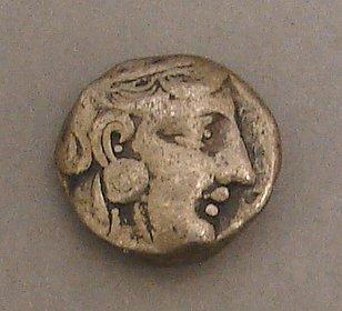 7010: Athens Silver Tetradrachm Ancient Coin