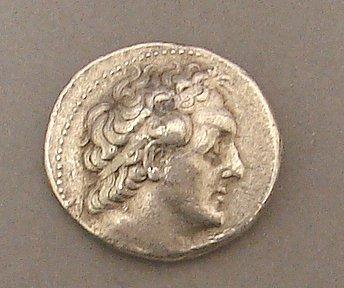 7012: Ptolemy II Tetradrachm Ancient Coin