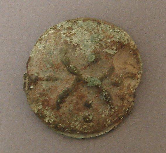 7014: Roman Republic Triens Ancient Coin