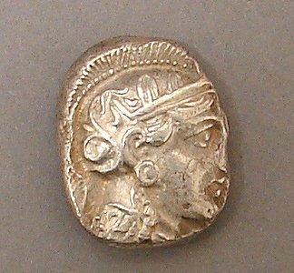 7016: Athens Silver Tetradrachm Ancient Coin