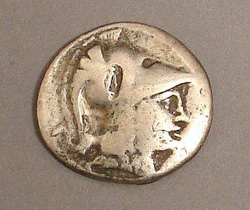 7019: Pamphylia Tetradrachm Ancient Coin