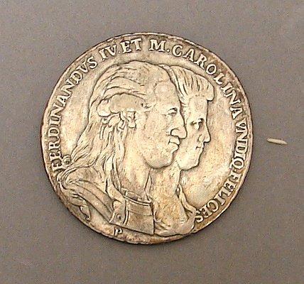 7052: 1791 Piastra of 120 Grana Italy
