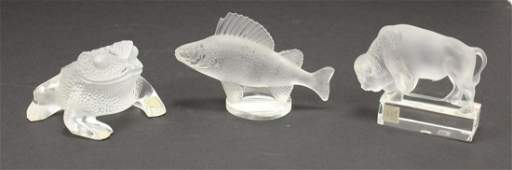 Lalique Crystal Grouping