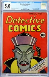 Detective Comics #1 CGC 5.0