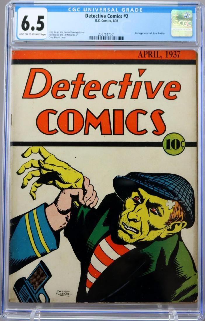 Detective Comics #2 CGC 6.5