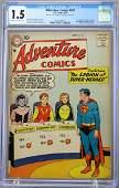 Adventure Comics #247 CGC 1.5