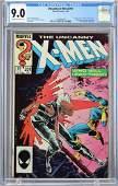 Uncanny X-Men #201 CGC 9.0