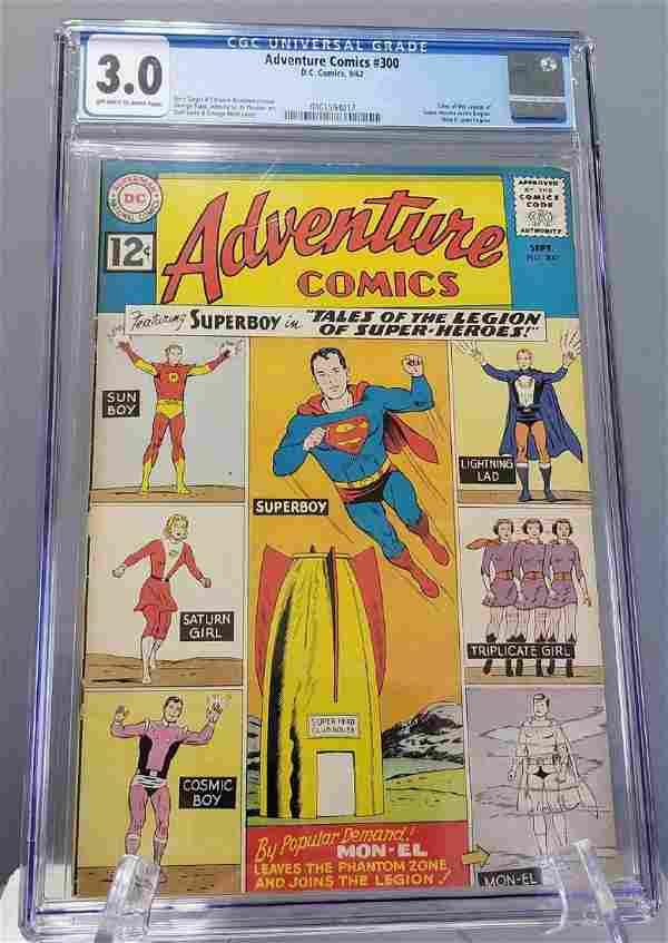 Adventure Comics #300 CGC 3.5