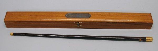 2002: Presentation Swagger Stick