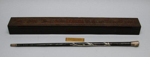 2003: Presentation Swagger Stick