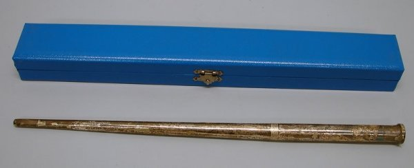 2004: Presentation Swagger Stick