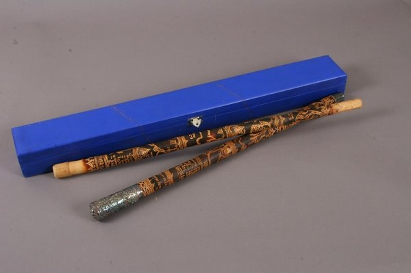 2012: Pair of Thai Swagger Sticks