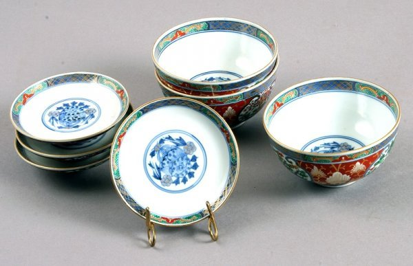 3496: Group of Japanese Imari Porcelain