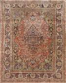 Kashan Hand Knotted Room Size Rug