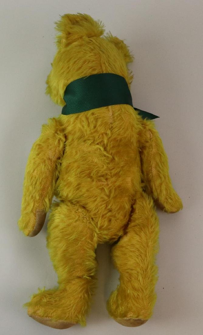 """19""""  UNMARKED ANTIQUE MOHAIR TEDDY BEAR. - 6"""