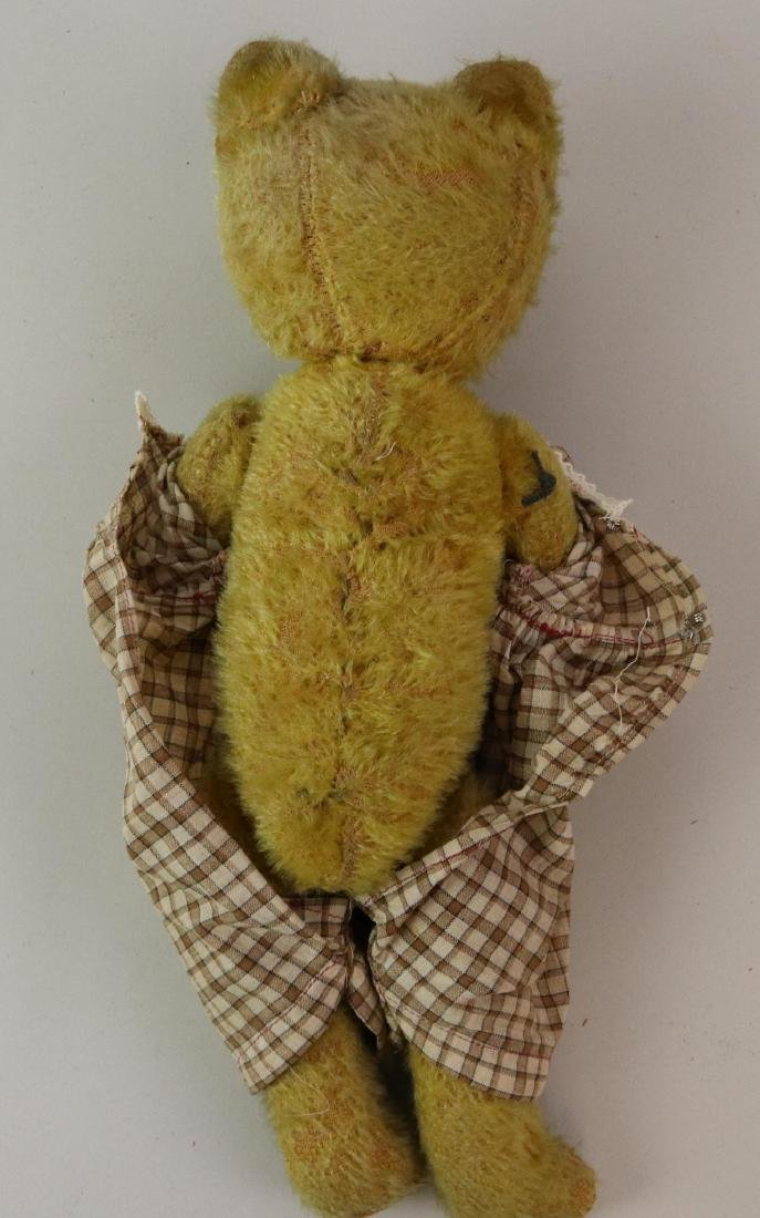 PAIR OF ANTIQUE MOHAIR TEDDY BEARS. - 5