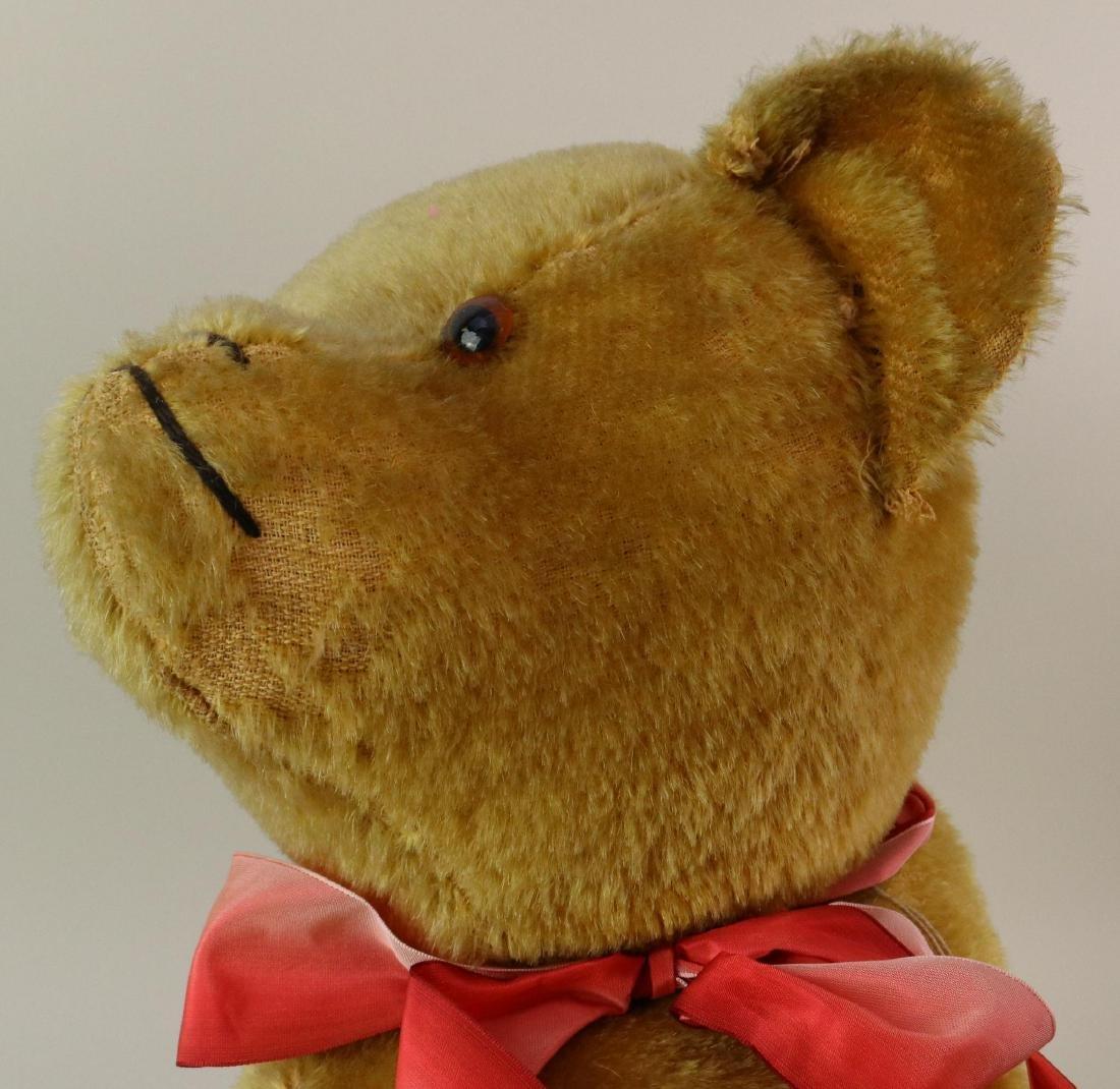 """25"""" ANTIQUE MOHAIR TEDDY BEAR. - 6"""