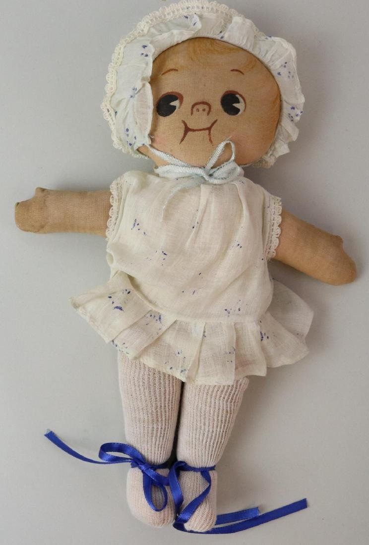 LOT OF CLOTH DOLL(S). - 2