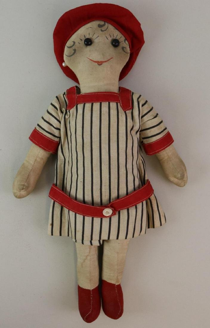 LOT OF CLOTH DOLL(S). - 4