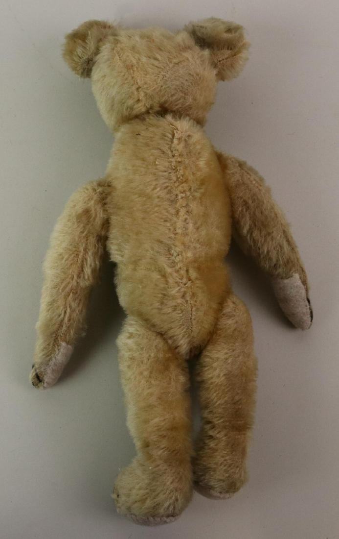 PAIR OF UNMARKED ANTIQUE MOHAIR TEDDY BEARS. - 6