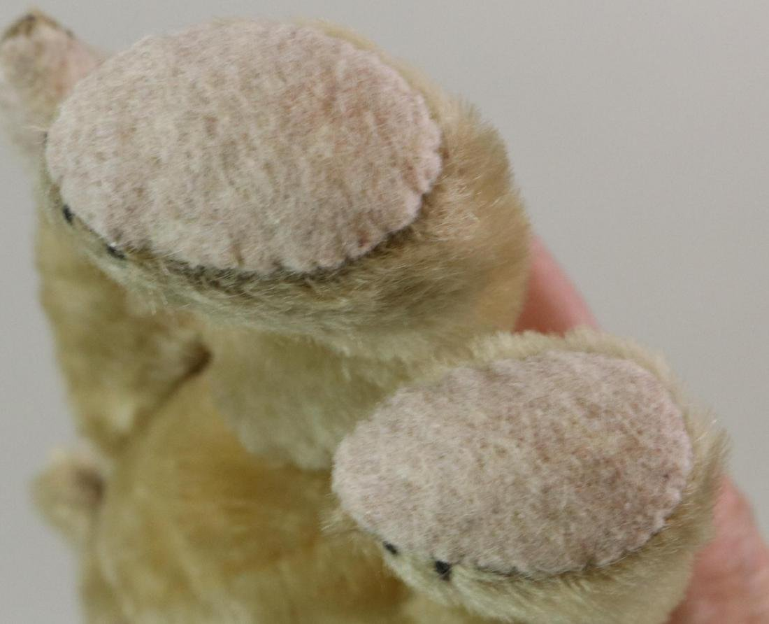 PAIR OF UNMARKED ANTIQUE MOHAIR TEDDY BEARS. - 7