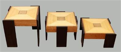 (3) Toqapu Stacking Nesting Tables