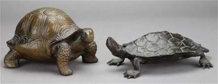Bronze Turtle Grouping