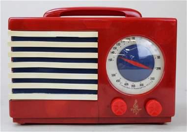 """Emerson Catalin """"Patriot"""" Radio"""