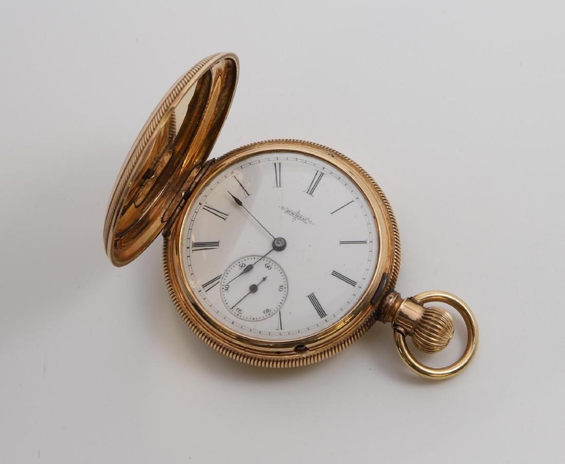14K Rose Gold Elgin Pocket Watch