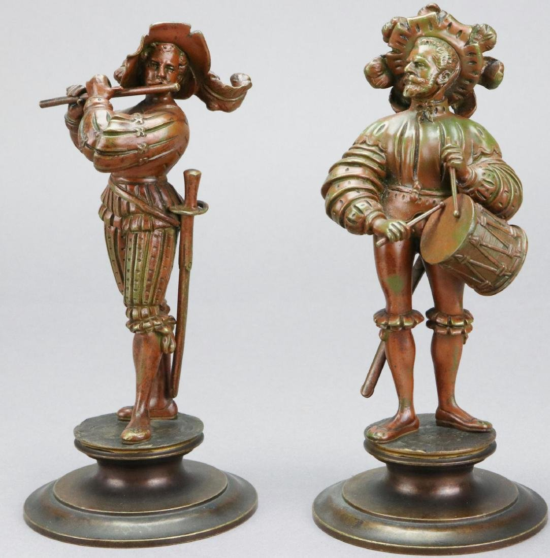 Figural Bronze Sculptures