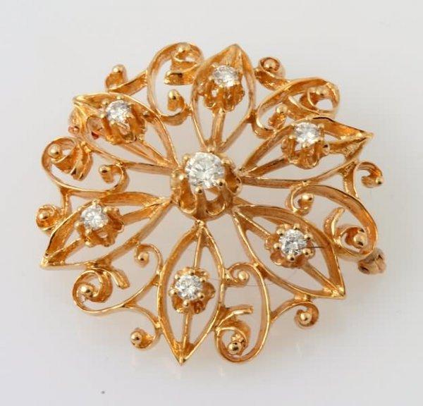 2291: Diamond Brooch