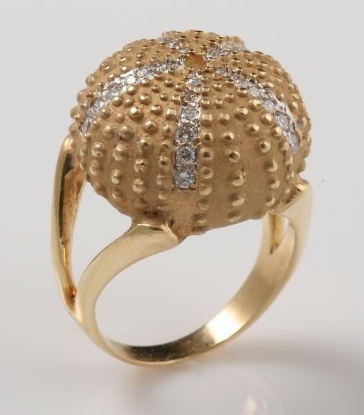 2292: Diamond Dome Ring Sea Urchin
