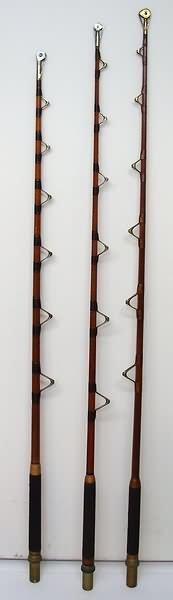 2535: Three Fishing Rods-Von Hofe De Luxe