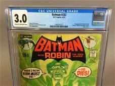 Batman #232, 6/71, CGC 3.0